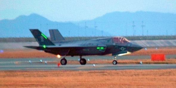 20170124岩国基地に配備されたF-35B