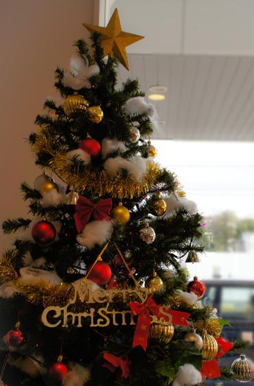 病院もクリスマス