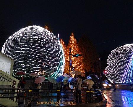 2016-11-27 京都駅ブラ と 京都ロームのイルミネーション 3