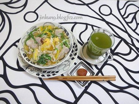 なんとなく01-06 marimekko Bottna ダイエット na 肉野菜半うどん麺 1