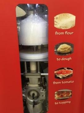 なんとピザの自動販売機wwww