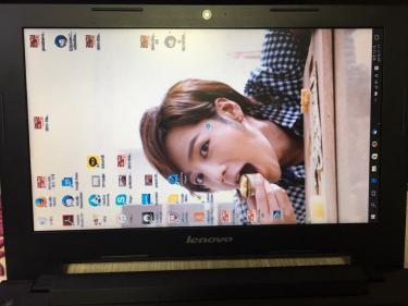 なざかトップ画面、が縦になってしまう我が家のパソコン・・