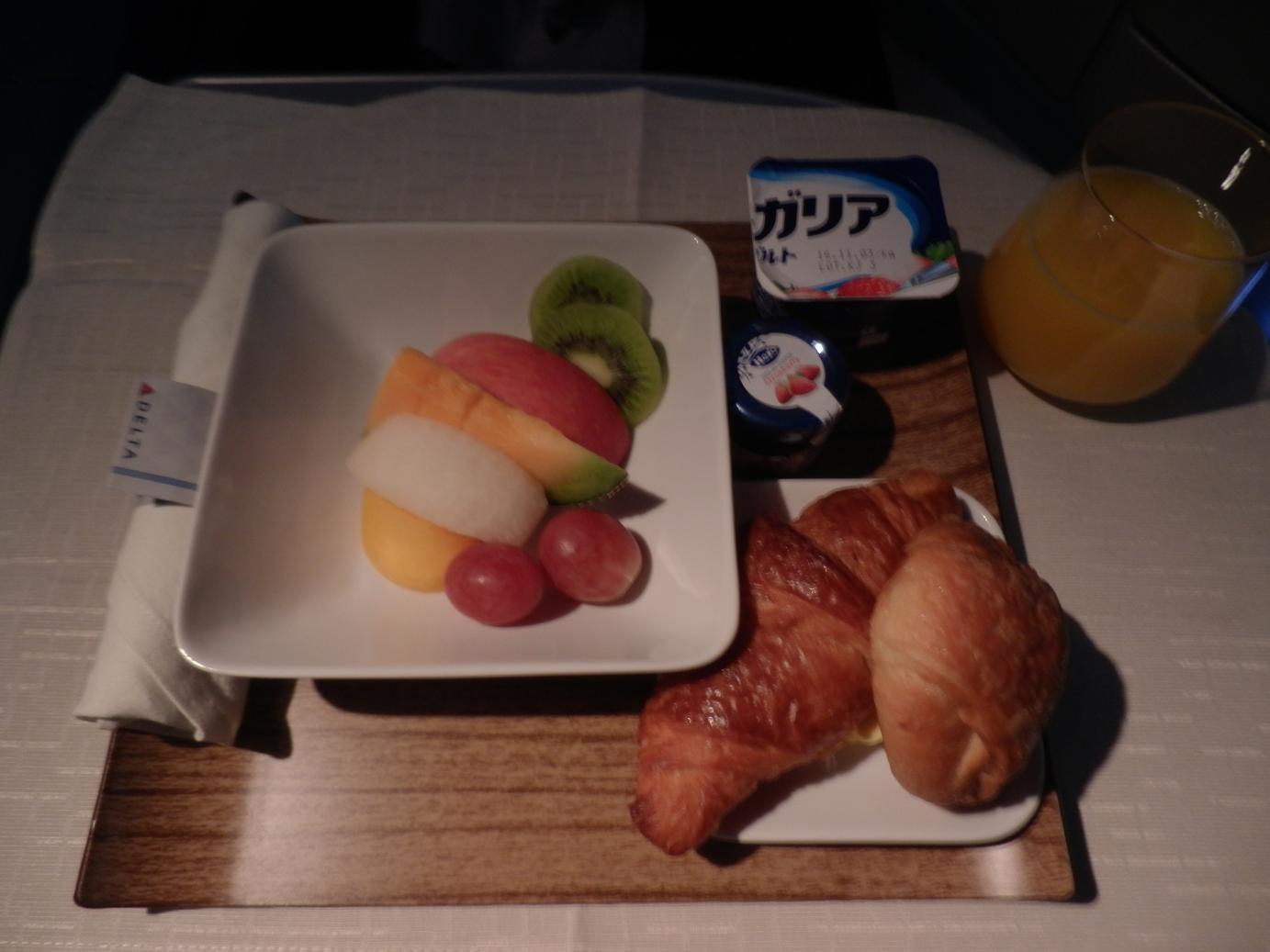 2016.10ハワイ機内食③