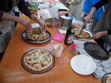 28年秋のピザ焼き交流会7