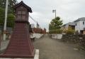 辻行燈と石垣