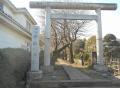 中氷川神社・鳥居