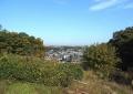 丘から見る北面