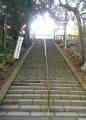 仙波東照宮への石段