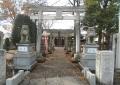 入間野神社・一の鳥居