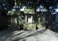左から愛宕神社、蔵王神社、御霊神社