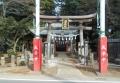 堀兼神社・鳥居