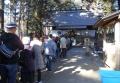 神明社・初詣の列