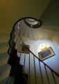 塔の螺旋階段