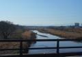 初雁橋から上流を見る