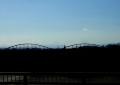 八瀬大橋から見る富士