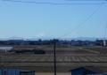 砂塚橋から見る富士①