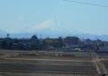 砂塚橋から見る富士②