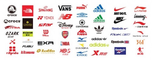 スポーツブランド ロゴ