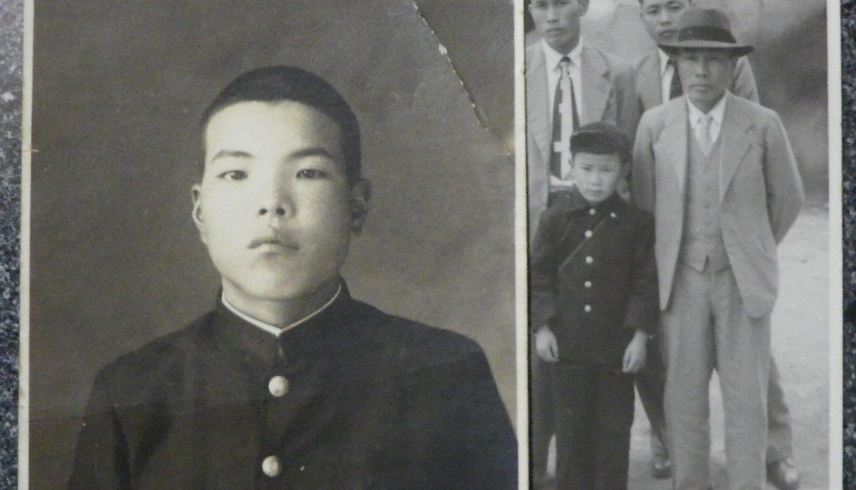 祖父の弟の安太郎と祖父