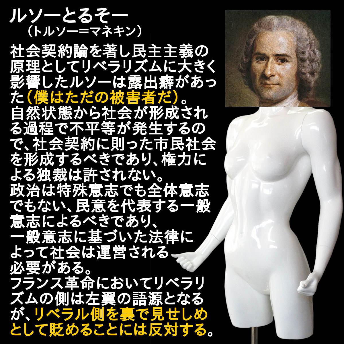 写真【ルソーとるそー/Rousseau-torso.jpg】