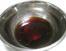 鎌倉ナスと茸の揚げ浸し 調理①