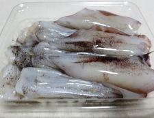イカゲソ白菜 材料①