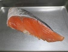 鮭とレタスのオイスターソース炒飯 材料①