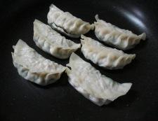 餃子のチーズ焼き 調理①