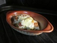 餃子のチーズ焼き 調理④