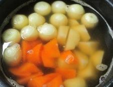 ベーコンと玉ねぎのコンソメスープ煮 調理③
