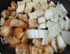 もも肉焼き豆腐 調理④