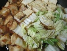 もも肉焼き豆腐 調理⑤