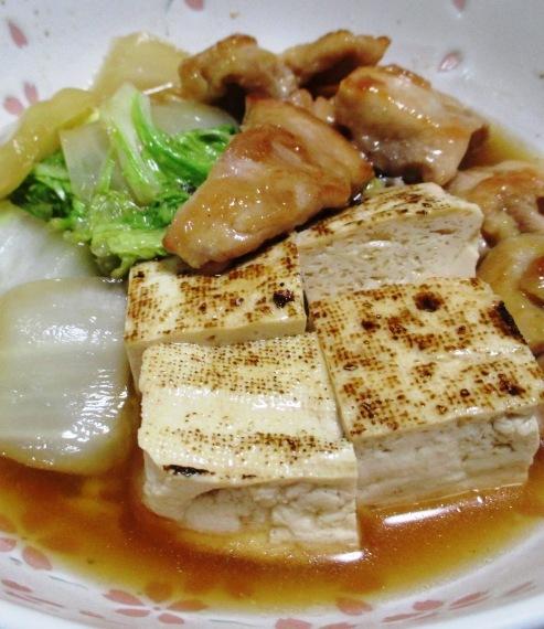 もも肉焼き豆腐 大