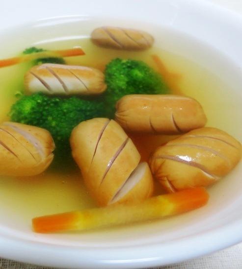ソーセージスープ 大