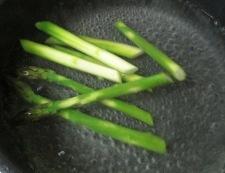 アスパラミモザ 調理①