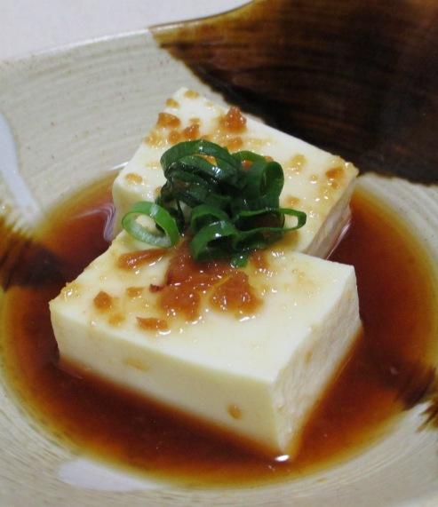 梅肉湯豆腐 B