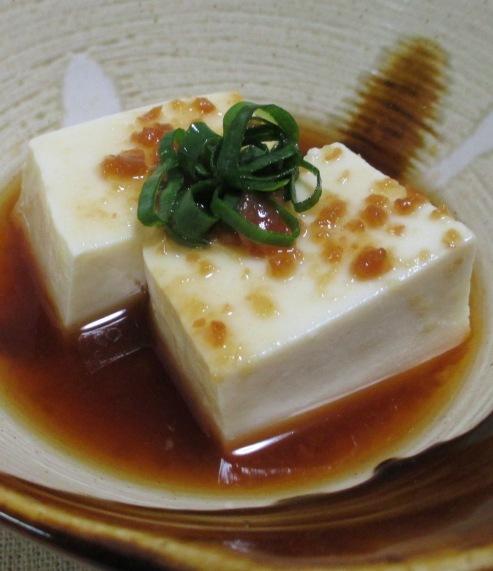 梅肉湯豆腐 大