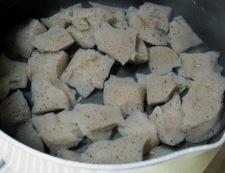 レンコンとこんにゃくの甘辛煮 調理①