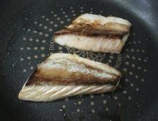 刺身ブリの胡麻照り焼き 調理④