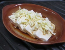豆腐のポン酢チーズ焼き 調理④