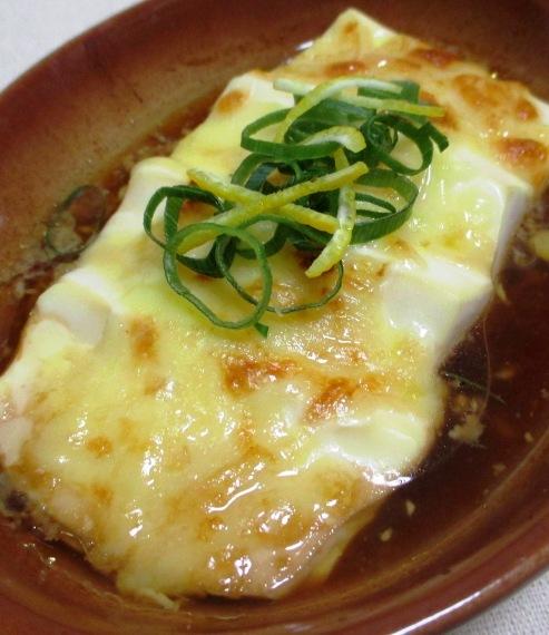 豆腐のポン酢チーズ焼き 大