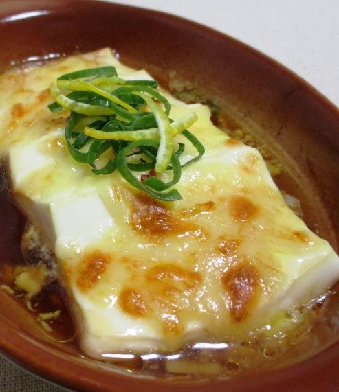 豆腐のポン酢チーズ焼き B