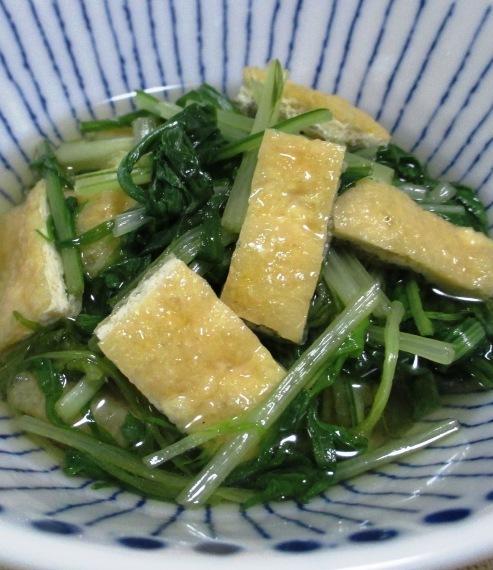 水菜お揚げ B