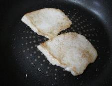 メカジキの七味照り焼き 調理②