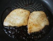 メカジキの七味照り焼き 調理③