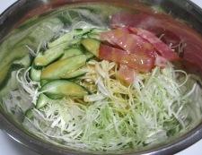 ベーコンとキャベツのレモン醤油サラダ 調理⑤
