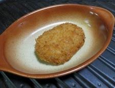 コロッケのソースチーズ焼き 調理②