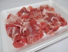 豆腐と豚こまのオイスターソース炒め 材料②