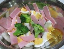 ブロッコリーと卵のサラダ 調理②