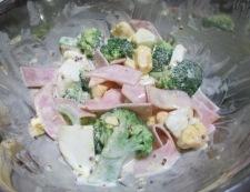 ブロッコリーと卵のサラダ 調理④